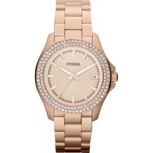 Fossil AM4454 Retro Traveler Horloge Dames