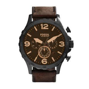 Fossil JR1487 Analoog Quartz horloge Herenhorloge Nate